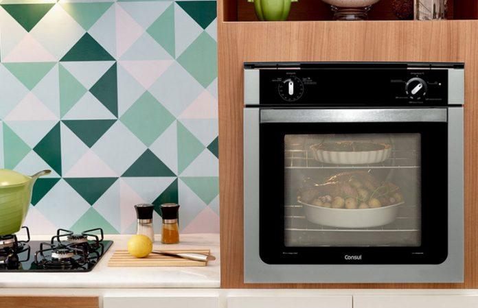 cooktop e forno embutido