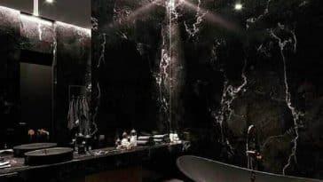 Banheiro Preto: Saiba Como Decorar e Modelos Inspiradores