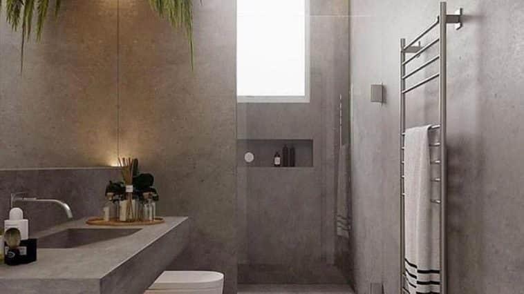 Banheiro Cimento Queimado