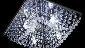 Lustre Quadrado: 7 Ideias para iluminar sua Casa Moderna