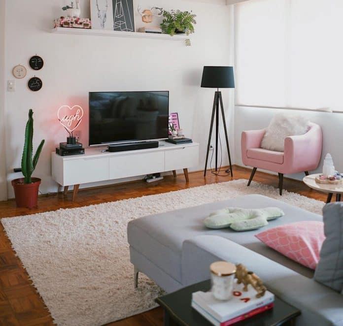 Como decorar a sala pequena