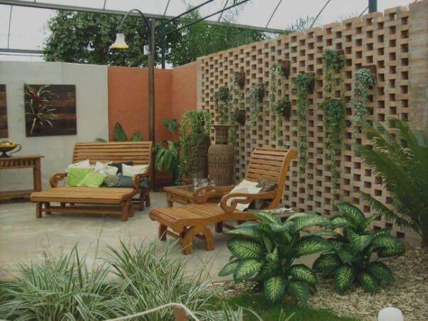 Como decorar jardins pequenos